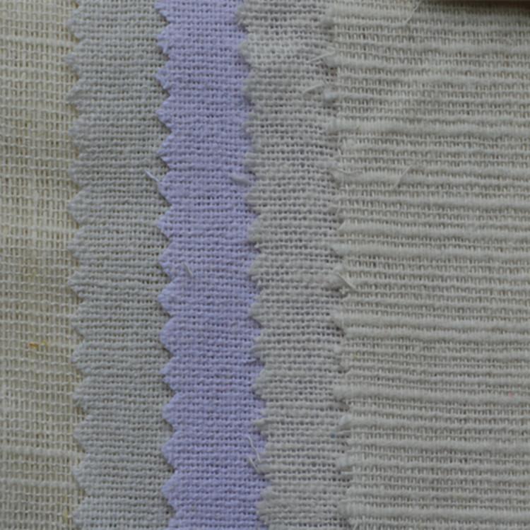 Vải Hemp mộc Có sẵn trong các thông số kỹ thuật khác nhau của vật liệu vải lanh lanh, vải tẩy trắng