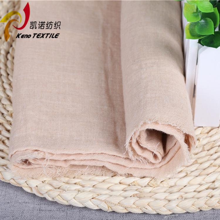 KAINUO Vải Cotton mộc Bông gạc màu vải mẹ màu xám Bán chạy nhất Kainuo dệt vải cotton đôi gạc Bà mẹ