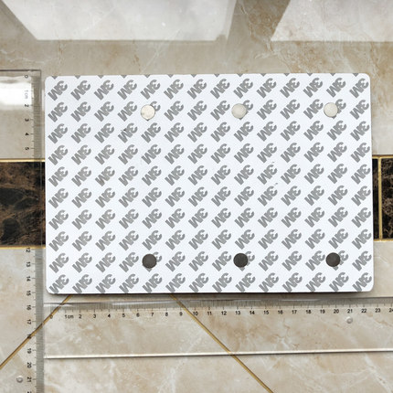 Bảng hiệu nam châm Thiết bị quản lý tình trạng biển báo bằng nhựa 3M