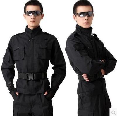 Áo nguỵ trang lính Đồng phục huấn luyện an ninh quần áo tinh khiết phù hợp với bộ quần áo đặc biệt p