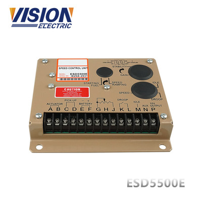 Thiết bị điều chỉnh tốc độ Bộ điều khiển tốc độ điều khiển điện tử động cơ ESD5500E Bộ điều chế tốc