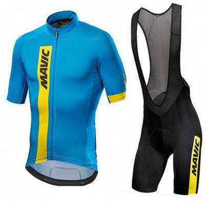 Trang phục xe đạp New Mavic Tay áo ngắn kèm yếm body .