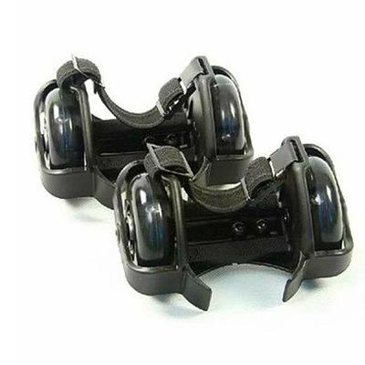 Giày trượt patin, bánh xe ròng rọc gắn gót chân .