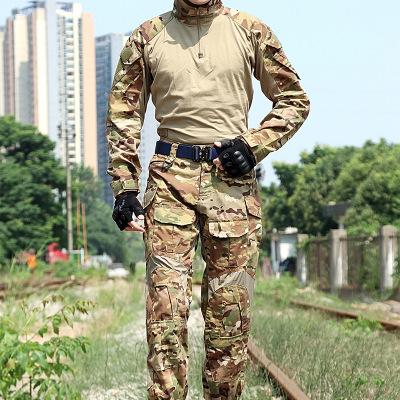 Áo nguỵ trang lính G3 chiến thuật dài tay quần áo ếch phù hợp với quần áo ếch người mẫu Python ngụy
