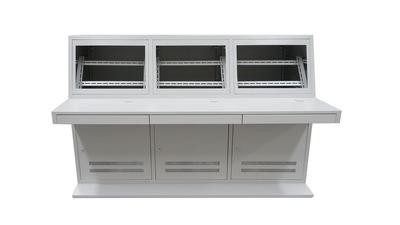 Hệ thống tích hợp Xinlian hai nhà sản xuất bàn điều khiển chung / ba tùy chỉnh kim loại bàn máy tính