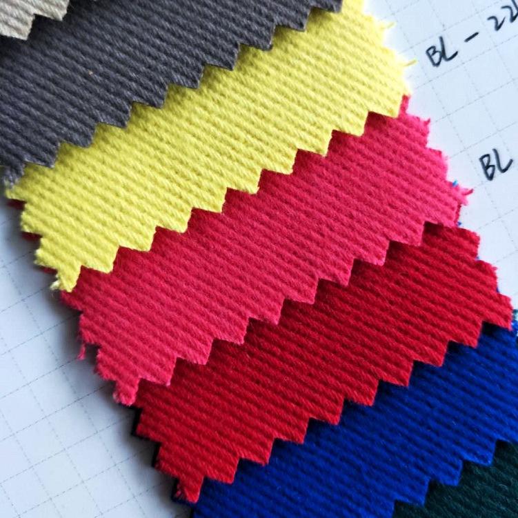 BAILI V ải Twill Chải bông sợi dày thẻ twill dày 7 * 7 bông bảo hiểm lao động dụng cụ vải denim túi