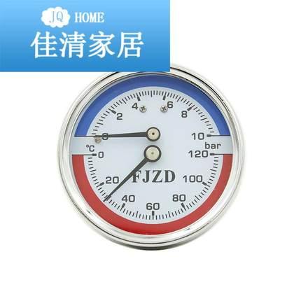 BODA Đồng hồ đo áp suất  Đồng hồ đo nhiệt độ và áp suất dọc trục WY-60Z Máy đo áp suất nhiệt sàn Thư