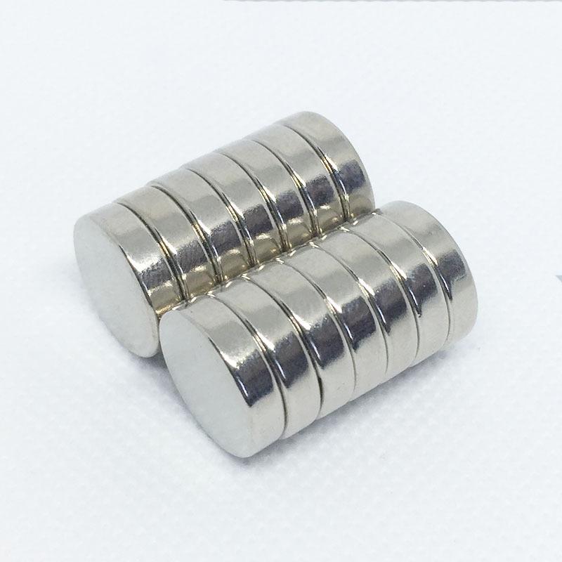 Sắt từ Thép từ tính mạnh 15 * 4mm mạ niken kích thước nhỏ thép nam châm NdFeB N35 nhà máy nam châm m