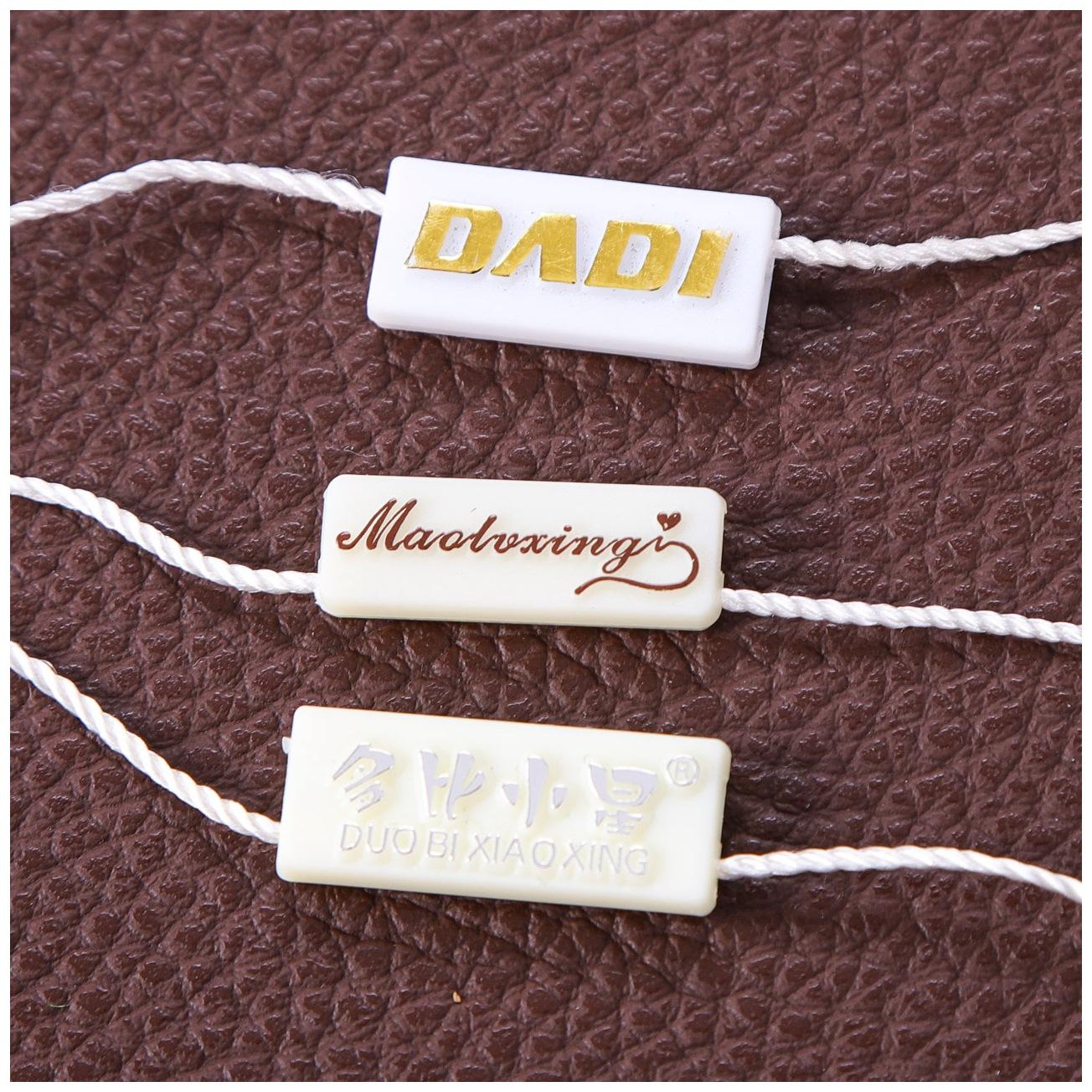 WEIZUO Chuỗi tag , Tag logo Tinh tế quần áo trực tiếp treo hạt treo dây hành lý phổ dây ô dù dây màu
