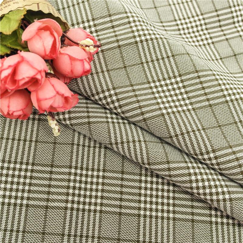 Vải pha sợi 2018 nhà máy mới bán trực tiếp polyester-visc vải dệt thoi TR dệt