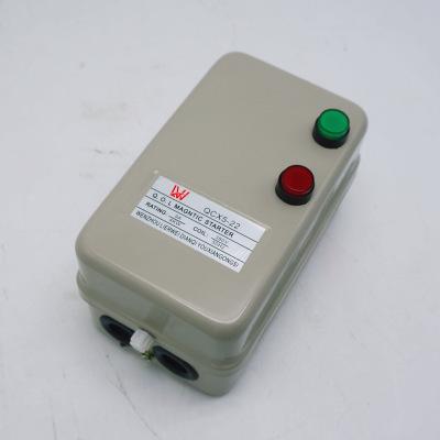 Bộ khởi động động cơ QCX5-22 khởi động từ công tắc từ động cơ khởi động điện từ khởi động thông minh