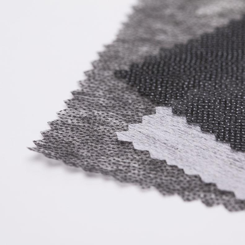 BAORUI Vải lót Bán trực tiếp hai điểm lót vải không dệt phụ kiện lót không dệt tại chỗ bán buôn keo