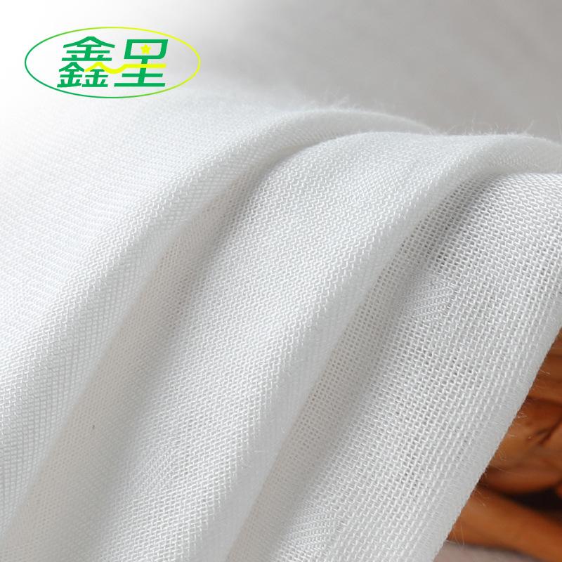 XINXING Vải Cotton mộc Nhà sản xuất vải bé tre sợi đôi gạc vải tã vải siêu mềm vải cotton