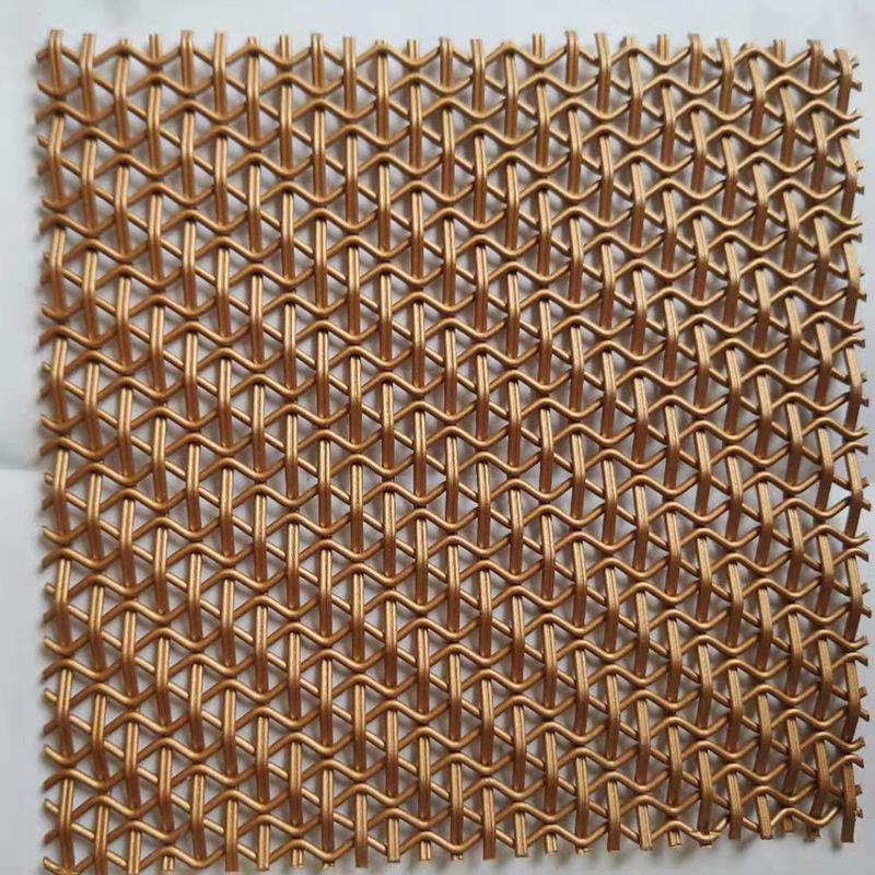 QIMING Lưới kim loại Nhà máy trực tiếp trang trí lưới kim loại trang trí lưới tường kim loại lưới rè