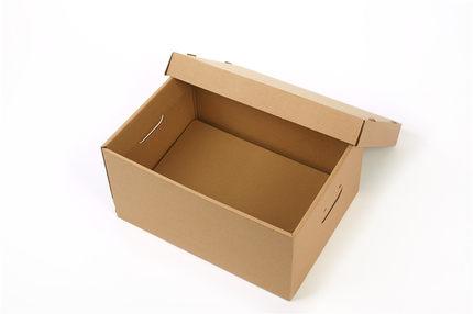 Langtong carton hộp giấy âm dương Hộp quà tặng trái cây và rau hữu cơ 400 * 300 * 200