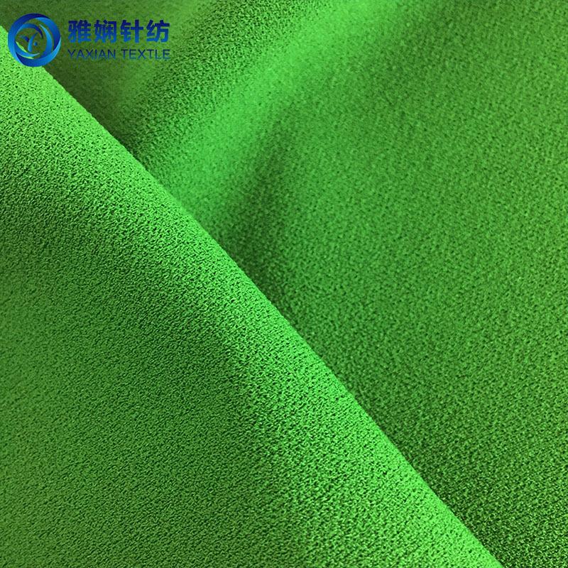 YAXIAN Vải dệt kim Nguồn nhà sản xuất 75D đan lụa tơ tằm, tát giả, vải lanh hỗn loạn, lớp không khí,