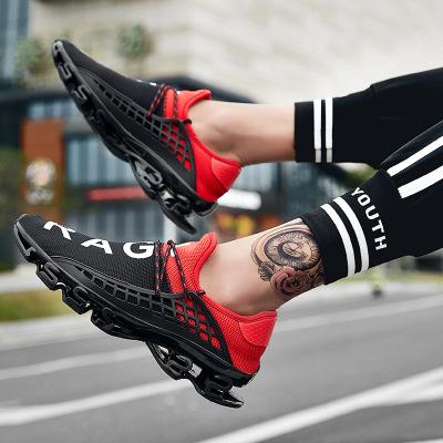 Giày FuJian 2019 mới lưỡi cuối thể thao giày nam tăng giày thời trang giày thủy triều chiến binh Al