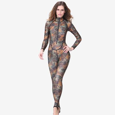 Áo nguỵ trang lính Bán buôn Châu Âu và Hoa Kỳ phù hợp với bộ đồ lặn ngụy trang phụ nữ chống nắng Xiê