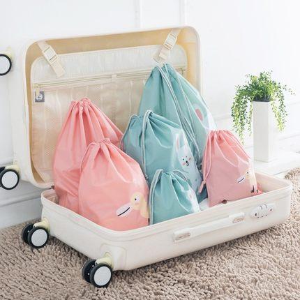 Dichang Túi đựng quần lót Dây rút túi quần áo túi đồ lót đồ lót vườn ươm quần áo bẩn vú túi lưu trữ