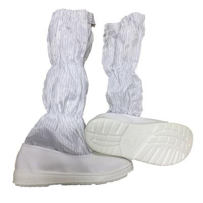 Giày chống tĩnh đế cứng làm sạch xưởng làm việc .