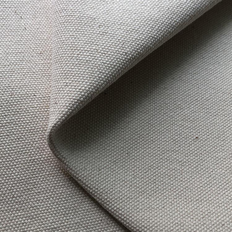 HAIXINCHENG Vải Cotton mộc Vải bông đính hạt Bông 16 Anzhu vải buồm 10S / 3 * 3 dày hạt buồm vải nhu