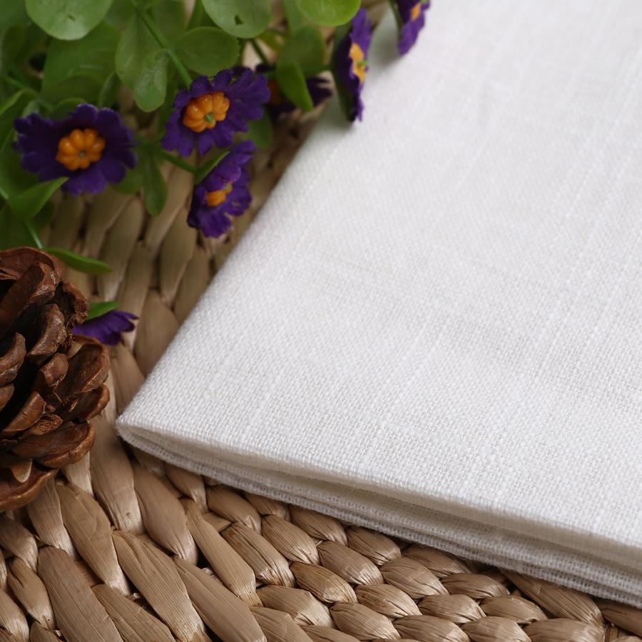 Vải Hemp mộc Vải lanh, vải lanh và tre pha trộn tre 4.5S tre, vải xám, bán tẩy trắng, tẩy trắng, tre