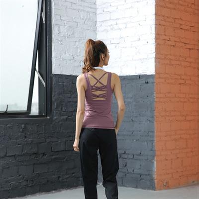 Áo thun mau khô 2019 Canada lulu Lulu Yoga quần áo thể thao yoga quần áo áo thun thể thao áo ngực 19