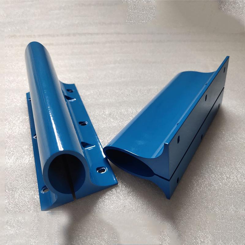 Hợp kim Nhà máy trực tiếp hồ sơ hợp kim nhôm Gia công CNC gia công hợp kim kim loại màu xanh tùy chỉ