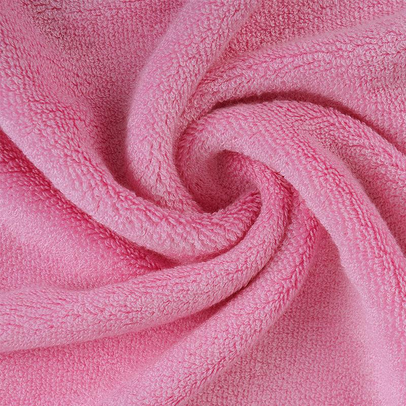 Vải khăn lông Khăn sợi tre dệt khăn terry hai mặt