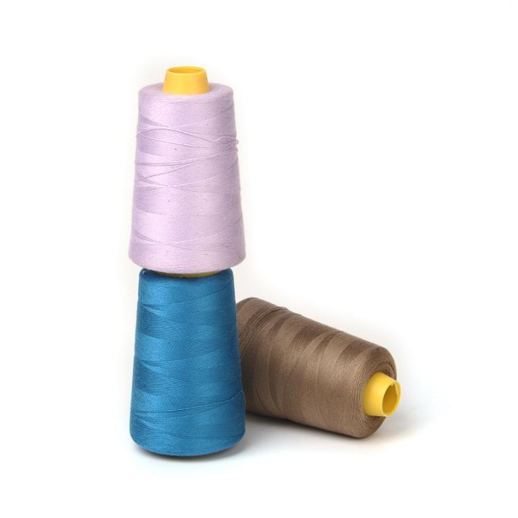 YIDA Chỉ may Nhà máy may trực tiếp 2 sợi bông sợi tự làm thủ công vật liệu trang sức dòng quần áo nh