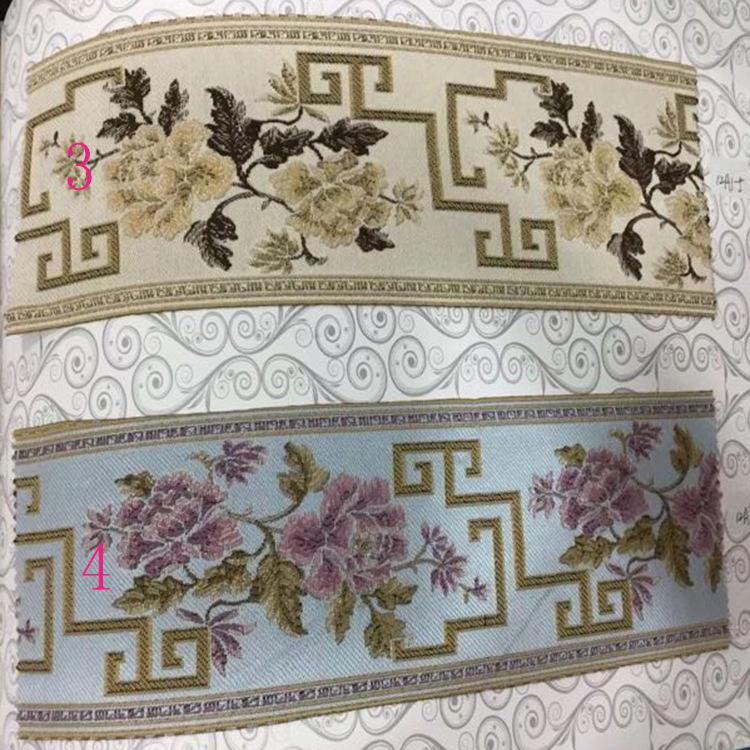 Dây cột rèm Bông mới và vải lanh 12 cm gối đệm ren rèm trang trí ren ruy băng