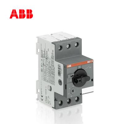 Cầu dao ngắt điện Bộ ngắt mạch bảo vệ động cơ dòng ABB MS116 MS116-1.6; 10140949