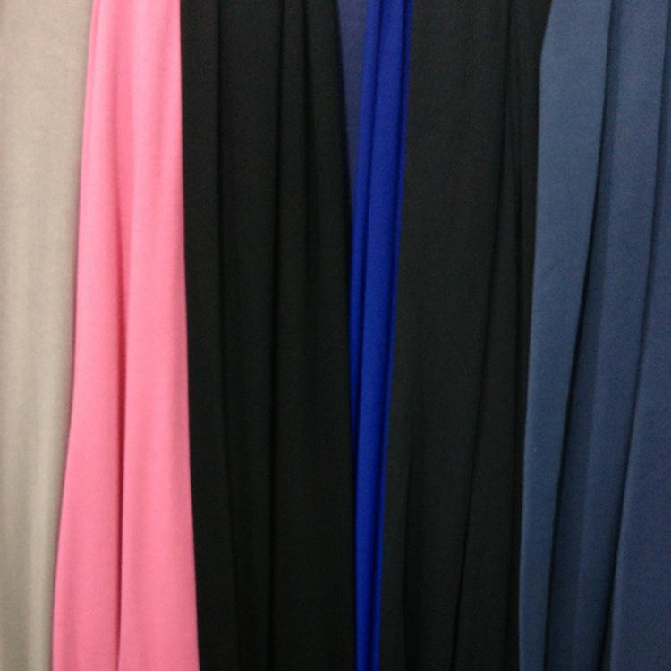Vải Jersey Các nhà sản xuất bán buôn vải lụa polyester vải polyester polyester chải sợi dọc vải có t