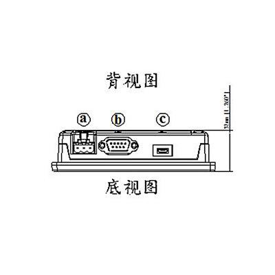 giao diện giữa người và máy ( HMI) Màn hình cảm ứng Weiluntong MT6051iP giao diện người máy chính gố