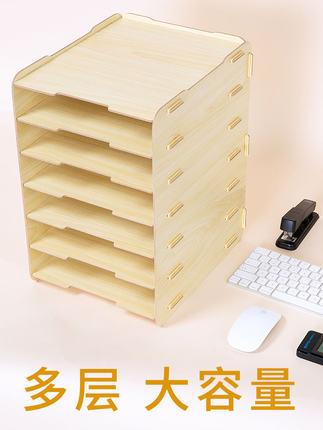 Kệ lưu trữ hồ sơ tập tin để bàn nhiều lớp .