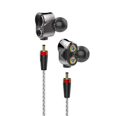 FMJ Tai nghe có dây FMJ mới Z6 ba đơn vị điều khiển dòng tai nghe đa năng loại tai nghe chơi game th