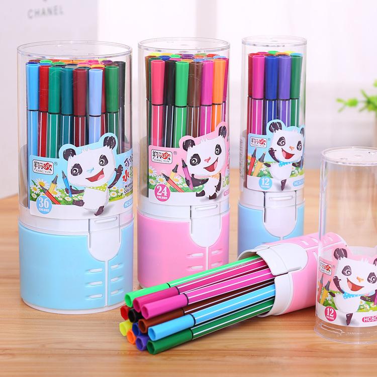 Xiangyun Đồ mỹ nghệ Văn phòng phẩm sáng tạo Xiangyun 36 màu có thể giặt phim hoạt hình màu nước bút