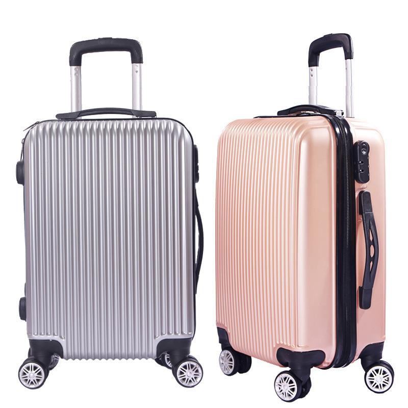thị trường túi - Vali Vụ nổ hành lý xe đẩy trường hợp 20 inch mật khẩu sinh viên Hàn Quốc hộp 24 inc
