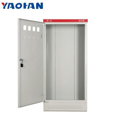 tủ điện bán dẫn Nhà máy phân phối trực tiếp hộp phân phối điều khiển điện mạnh tủ XL-21 tủ điện tron