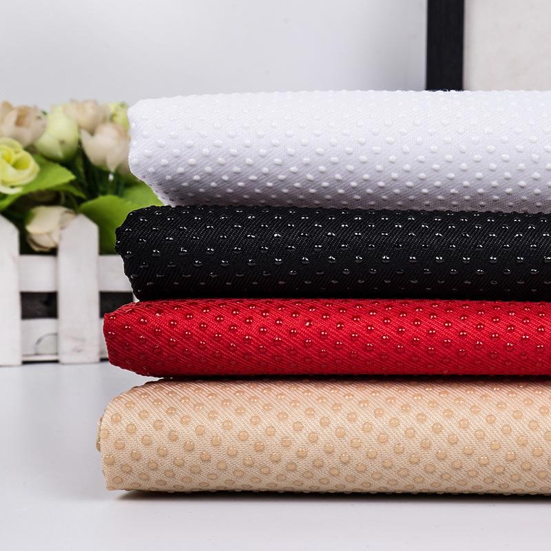Vải dệt may Nhà máy trực tiếp Twill huada nhựa thả vải Vải chống trượt Xe đệm ghế Sofa vải Kho