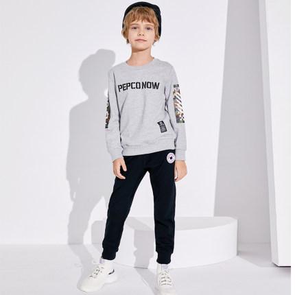 PEPCO  Quần trẻ em  Quần áo trẻ em Piggy Banner quần bé trai mùa thu 2019 quần thể thao trẻ em mới q