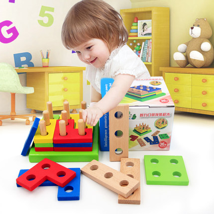 NUKied - Đồ chơi Montessori giúp bé sáng tạo thông minh hơn .