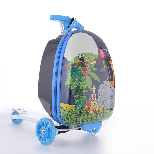 Túi vali nhỏ dành cho trẻ em đến trường .