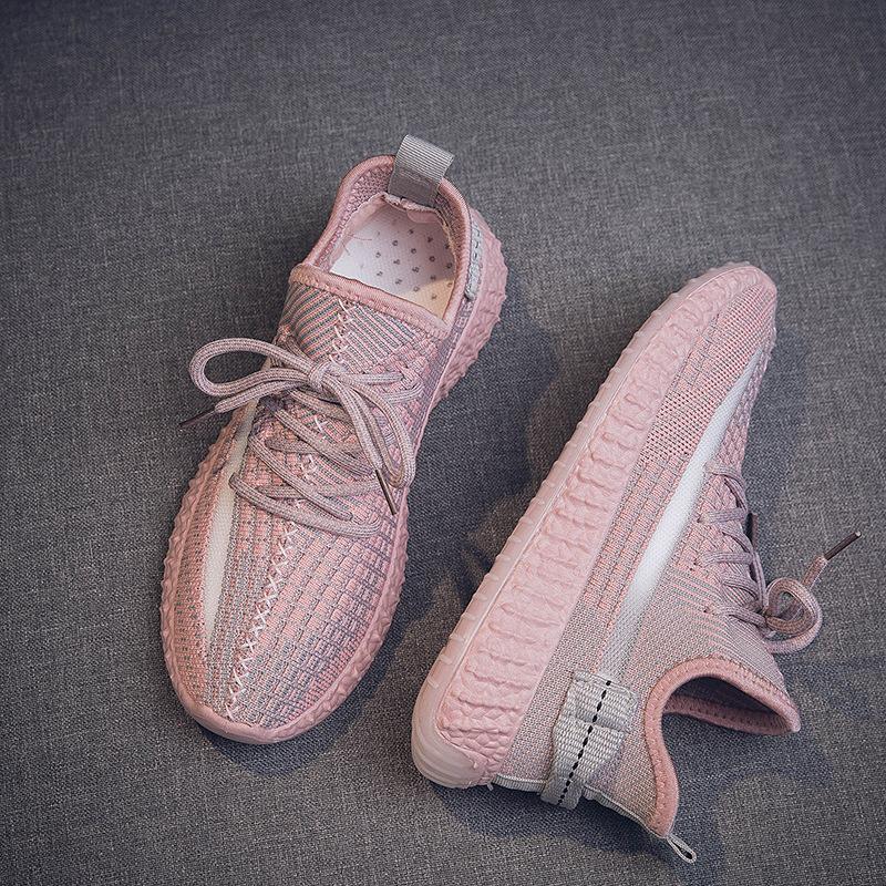 Giày GuangDong Giày nữ mùa hè 2019 giày thủy triều mới lưới thoáng khí hoang dã giày thể thao nữ Già