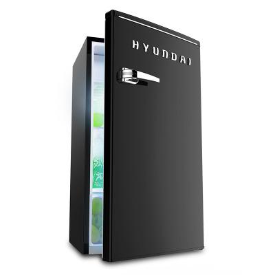 HYUNDAI Tủ lạnh HYUNDAI / hiện đại 86 lít mặt nạ mỹ phẩm Hàn Quốc tủ lạnh nhỏ đơn cửa nhà retro tủ l