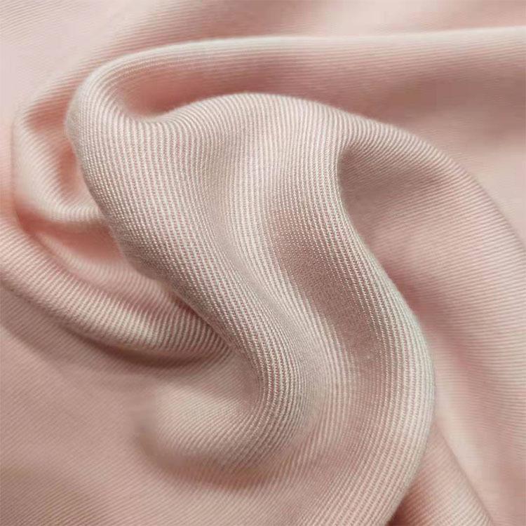 XIAONIZI Vải dệt may Vải twill cotton vải mềm Không vải thun co giãn nhuộm Quần áo dệt vải nhà máy b