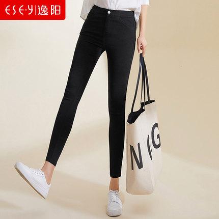 Yiyang Quần Yiyang quần legging eo cao nữ mặc mùa thu đông cộng với chân thun nhung bó sát quần bút