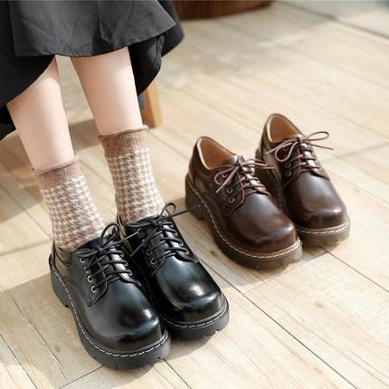 Thị trường giày nữ  Giày mùa thu 2019 của Anh Martin giày nữ đế dày, mềm, đế mềm, giày nhỏ của nữ