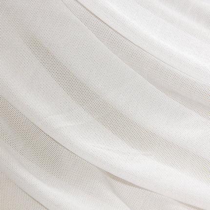 CRYSTAL SHINE RED Vải lưới Mắt dày amoniac lưới vải spandex lưới vải nylon lưới bốn mặt đàn hồi lưới
