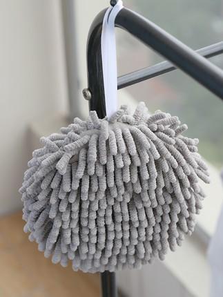 MUCHUN Vải khăn lông   Chenille handball Nhà bếp Nhật khô nhanh khăn lau phòng tắm treo khăn tay thấ